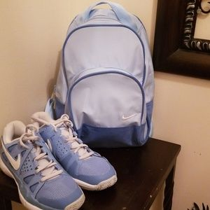 Small  Lt.Blue Nike Backpack
